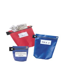 secure cash pouches